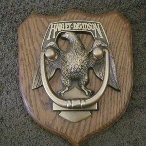 Harley Davidson brass eagle door knocker